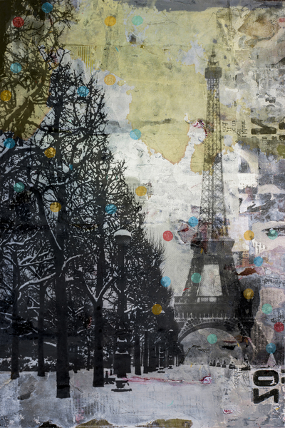 SNOW IN PARIS by db Waterman