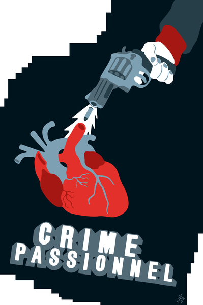 CRIME OF PASSION by Francis le Gaucher