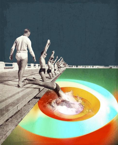 Se Jeter à l'eau by tzigone