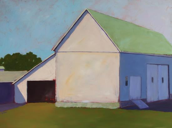 Shelton Dairy Barn by Carol C Young. The Creative Barn