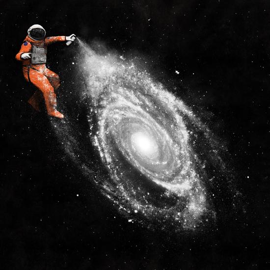 Astronaut by Florent Bodart - Speakerine
