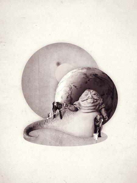 Jabba the Hutt by Oleg Borodin