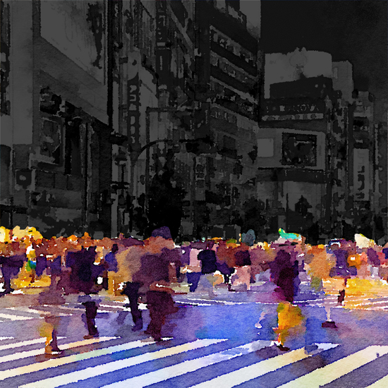 One evening in Tokyo by Malixx