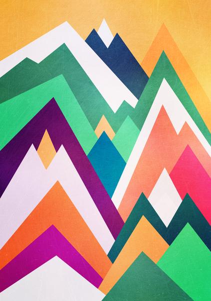 Summer peaks by Elisabeth Fredriksson