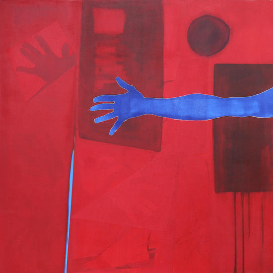 The Blue Hand by Pierre-Michael Faure