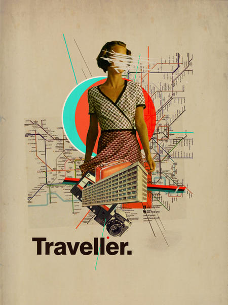 Traveller by Frank Moth