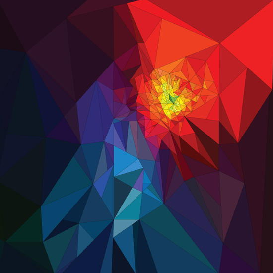 Colorful Triangles by PIEL Design