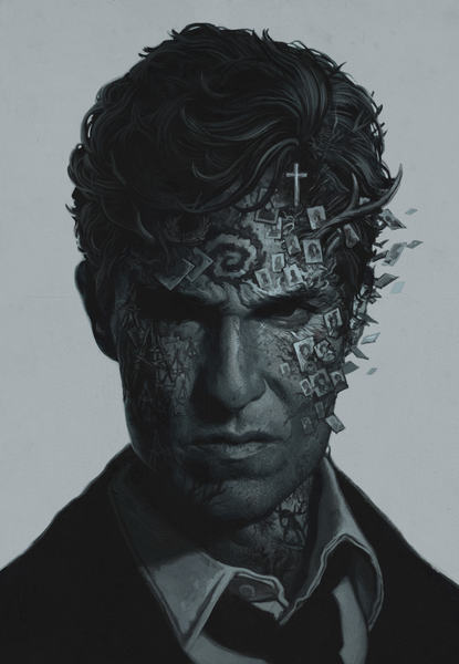True Detective by yurishwedoff