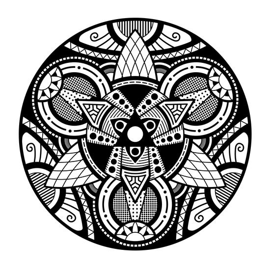 Simple Mandala 4 by Divotomezove