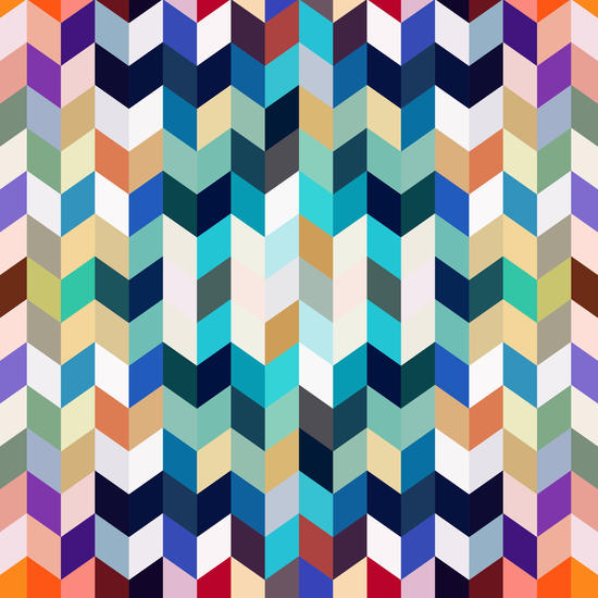 Colorful Geometric Background by Amir Faysal