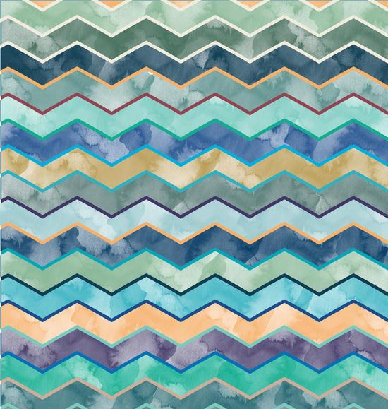 Watercolor Wave by Amir Faysal