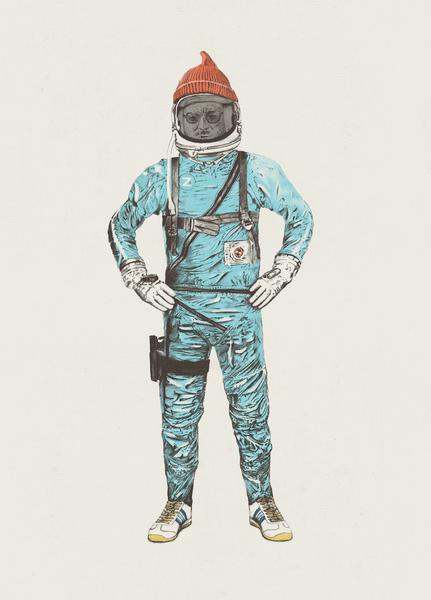 Zissou In Space by Florent Bodart - Speakerine