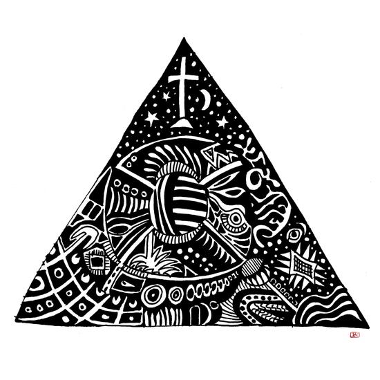 3 sommets #1 by Denis Chobelet