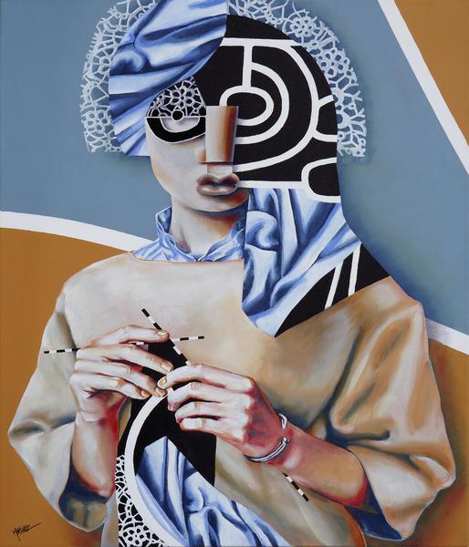 De Fil En Aiguille by Manuel Martinez