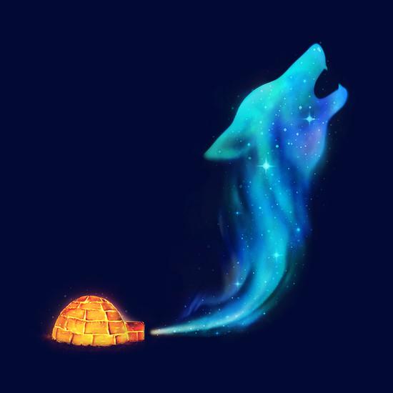 Arctic Howl by Enkel Dika