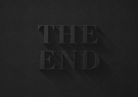 THE END by DANIEL COULMANN