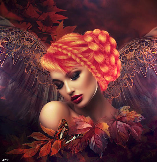 AUTUMN ANGEL by G. Berry