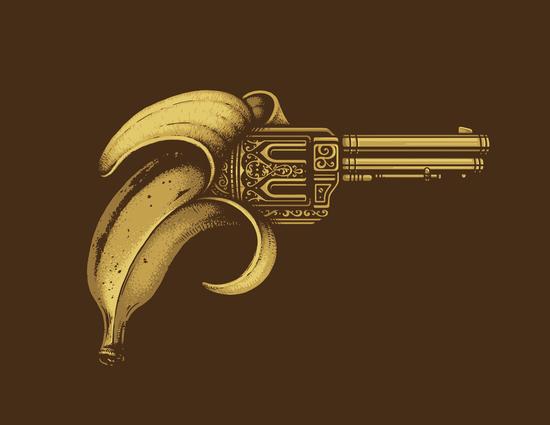 Banana Gun by Enkel Dika