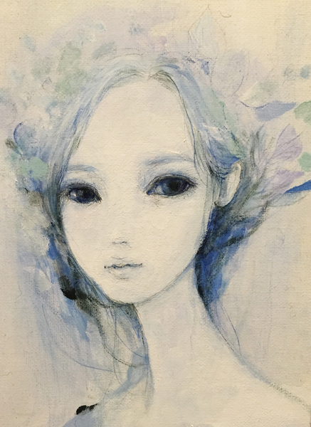 Blue 24 by Ai Natori