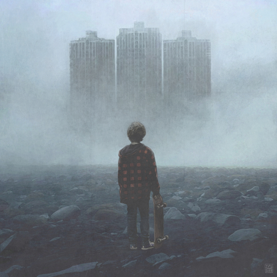Boy and the Giants by yurishwedoff