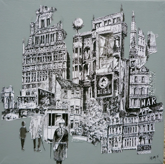 Bruxelles n°2 by Koen De Weerdt