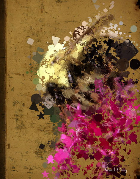 Bumbly Bee by Barbara Storey Digital Art