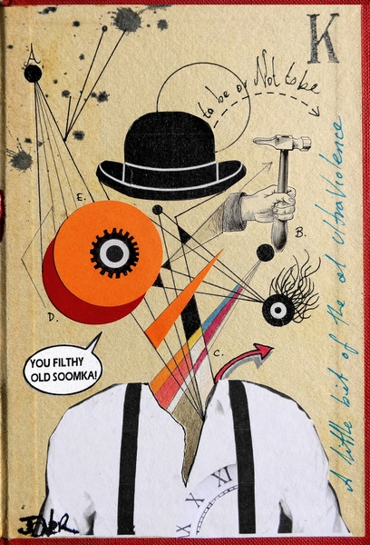 CLOCKWORK ORANGE by loui jover