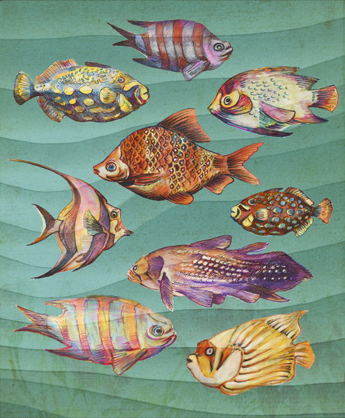 Fishes by Georgio Fabrello