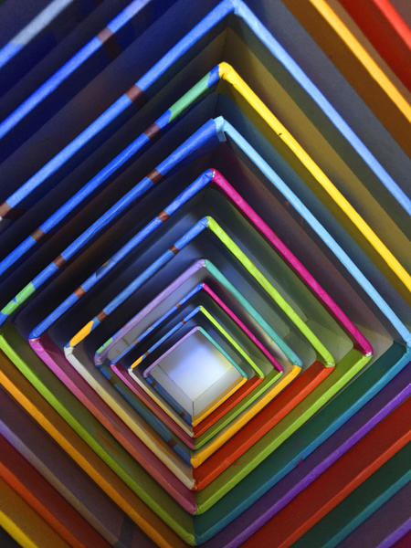 Cubes Imbrication by Vic Storia