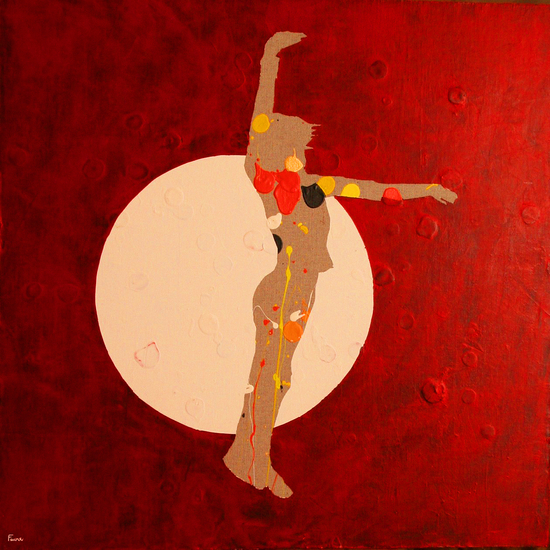 Dancing In The Moon by Pierre-Michael Faure
