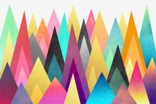 Dreamy Peaks by Elisabeth Fredriksson