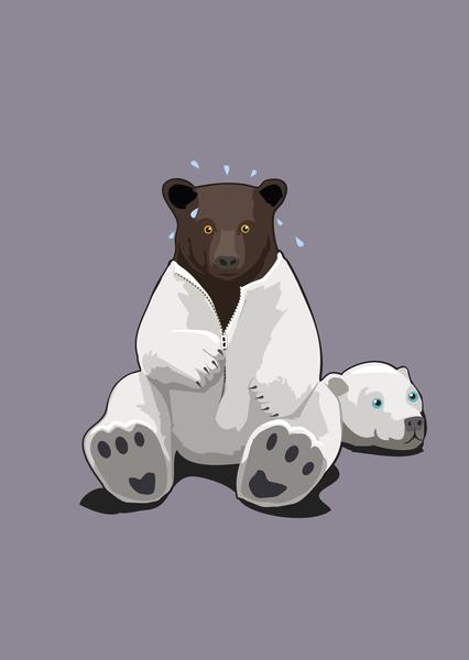 Fake Bear by Alex Xela