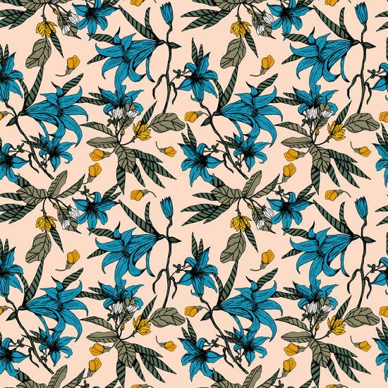 Pattern floral 01 by mmartabc