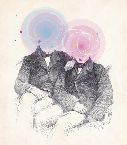 Goncourt Brothers by tzigone