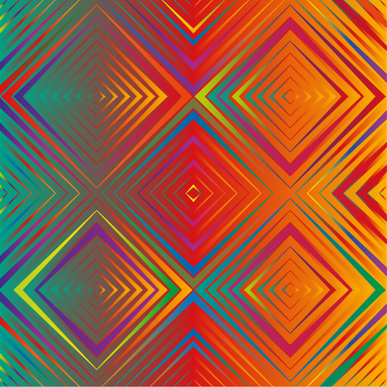 Gradient Squares by Vic Storia