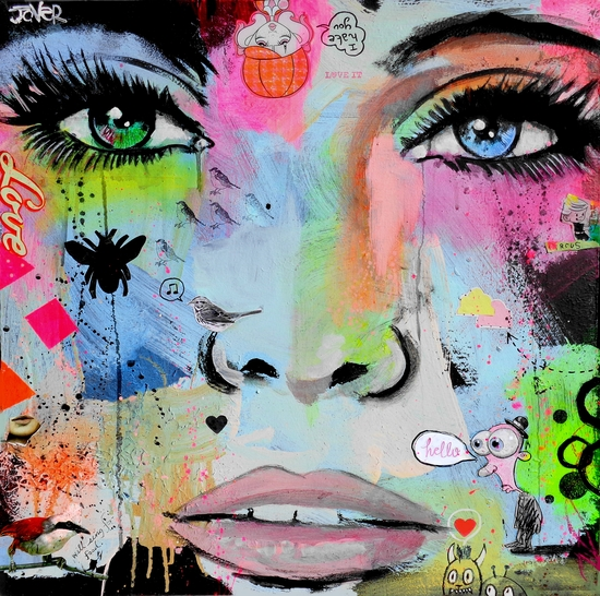 HELLO by loui jover
