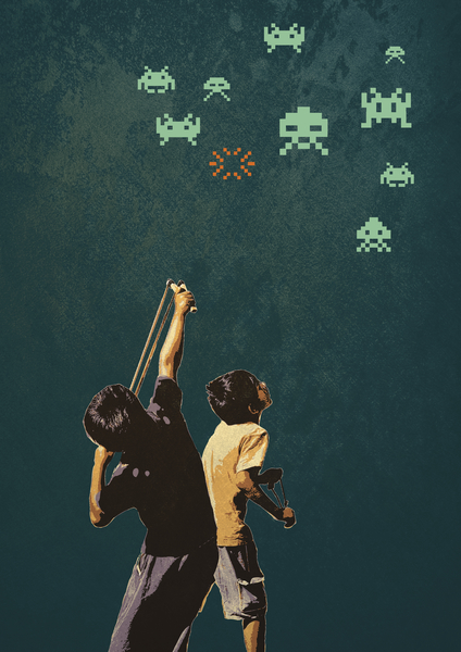 Invaders! by tzigone