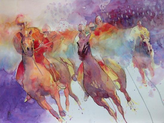 jockeys by andreuccettiart