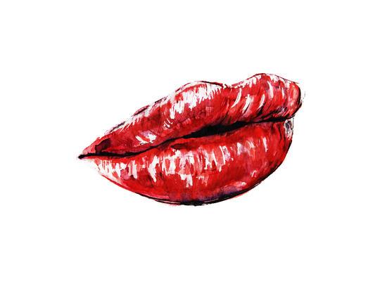 Red Lips by Nika_Akin