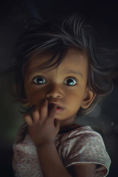 Little Boy by AndyKArt