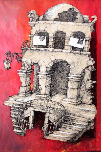 La Maison Visage by Georgio Fabrello