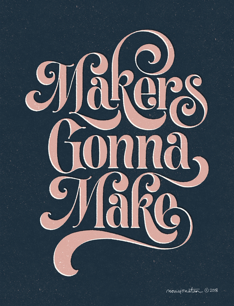 Makers Gonna Make no.1 by noviajonatan