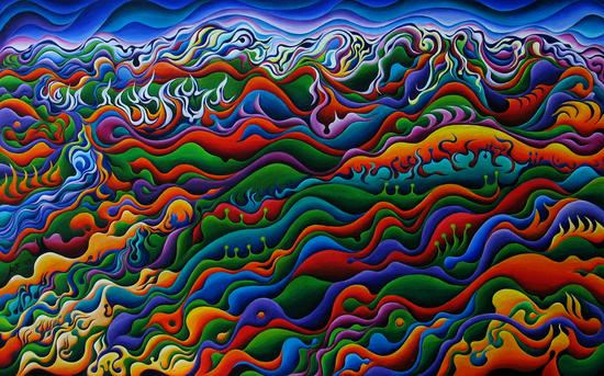 Pawnee Spirit Camp by Amy Ferrari Art