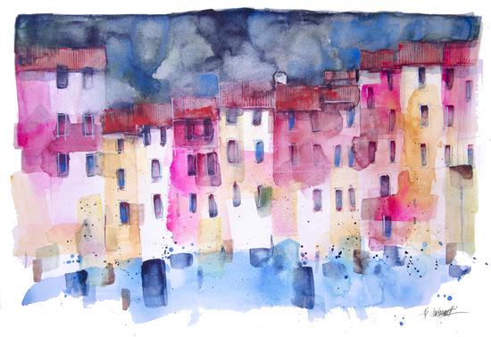 Portofino by andreuccettiart
