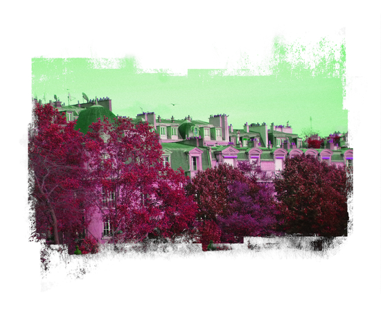 Roofs in Montmartre by Malixx