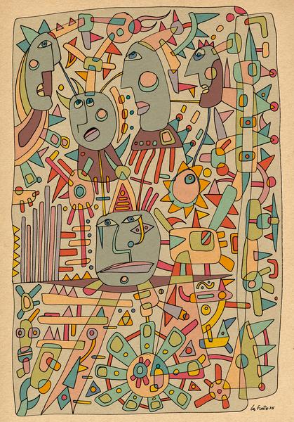 - schematic - by Magdalla Del Fresto