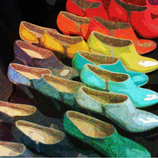 Passion of shoes by Vic Storia