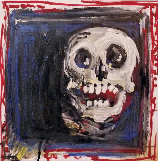 Smiling Skull by Georgio Fabrello