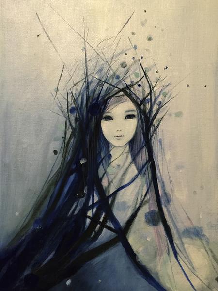 snow girl by Ai Natori