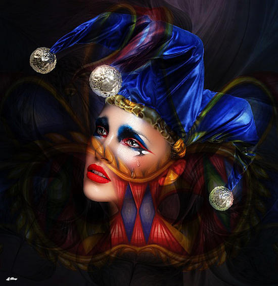 TEARFUL HARLEQUIN 002 by G. Berry